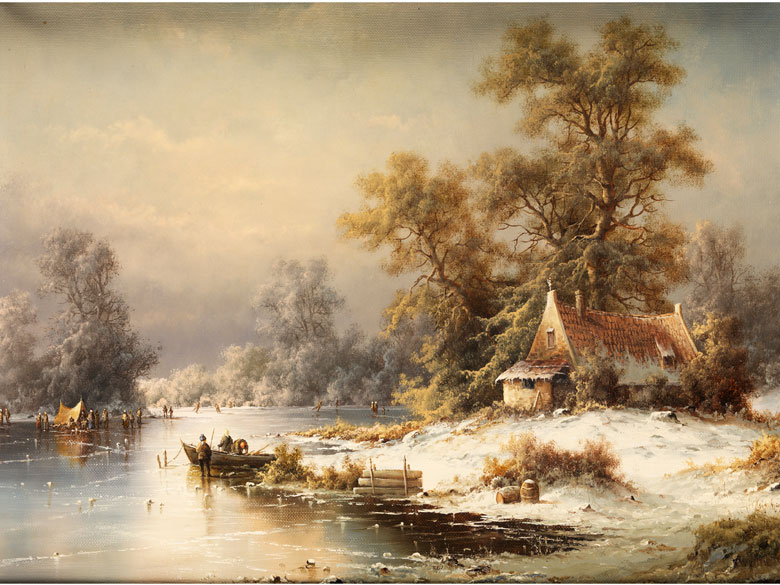 Münchner Maler des 20. Jahrhunderts im Stil des 19. Jahrhunderts