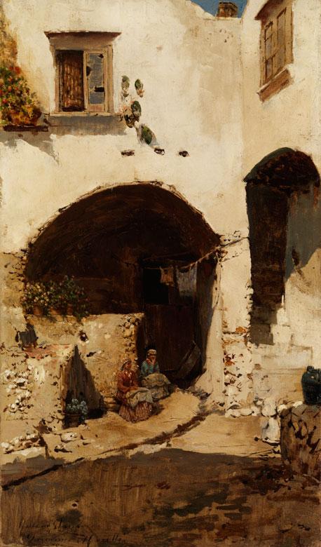 Rubens Santoro, 1859 Mongrassano - 1942 Neapel