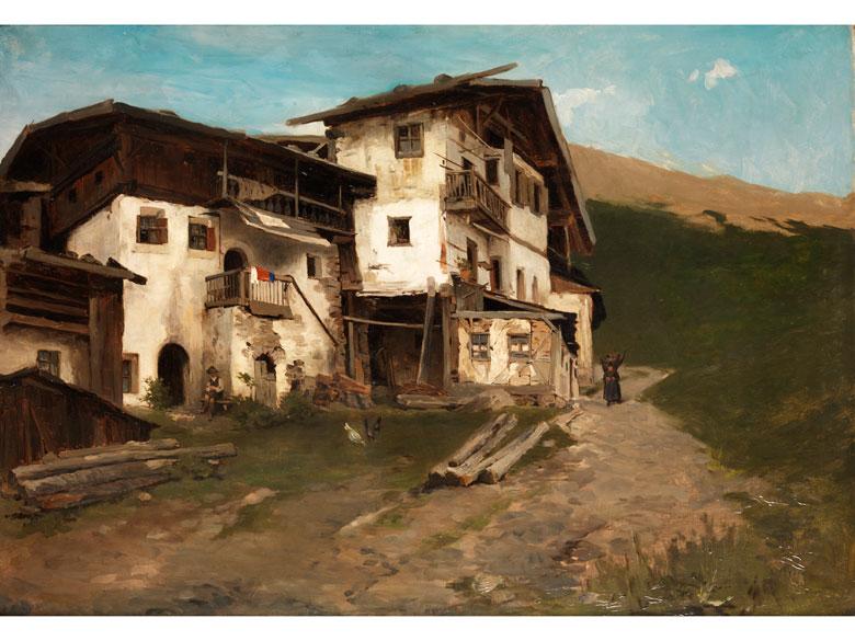 Nikolaus Gysis, 1842 Sklavahory – 1901 München Bedeutender griechischer Maler der Münchener Schule