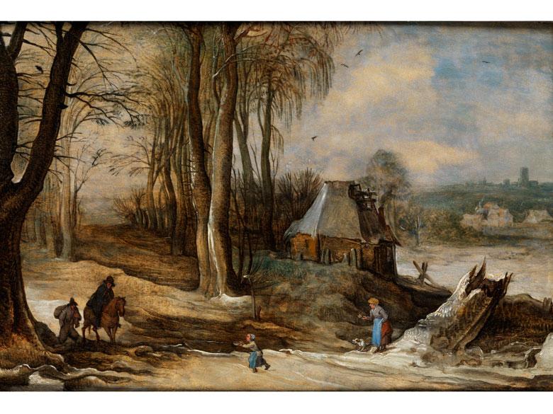 Jan Brueghel, d. J., 1601 Antwerpen - 1678 und Josse de Momper 1564 Antwerpen - 1635