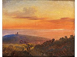 Eugen Napoleon Neureuther, 1806 München – 1882, Bedeutender Maler der Münchner Schule