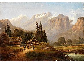 Süddeutscher Maler des 19. Jahrhunderts in der Art von Karl Millner