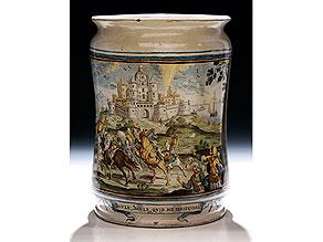 Großer Albarello von Francesco Antonio Saverio Grue, 1686 - 1746