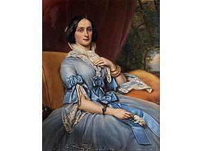 Portraitist des frühen 19. Jahrhunderts in der Art von Karl Stieler, 1842 - 1885 oder Friedrich von Amerling, 1803 -1885