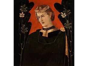 Maler der venezianischen/ lombardischen Schule der zweiten Hälfte des 15. Jahrhunderts/ Bonifazio Bembo, um 1420 Brescia – um 1477/ 82, zug.