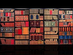 † Eine Bibliothek des 19. Jahrhunderts