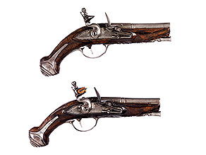 Paar Duellpistolen