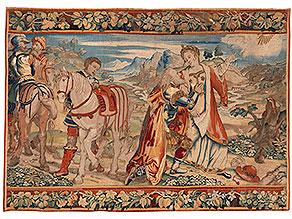 Französischer Wandbildteppich