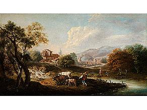 Francesco Zuccarelli, Pitigliano/ Toskana – Florenz, zug.