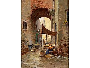 Gustavo Pisani, 1877 Neapel