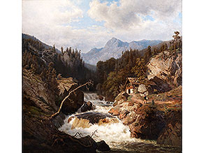 Leonhard Rausch, 1813 Jülich – 1895 Düsseldorf