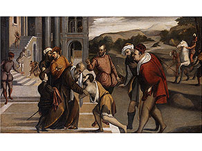Bonifacio Veronese, eigentlich Bonifacio de Pitati, 1487 Verona - 1553 Venedig, zug.