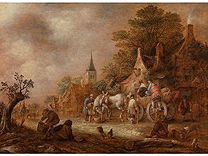 Isaac van Ostade, 1621 - 1649, zug.