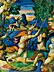 Detail images: Majolika-Istoriato-Schale auf Fuß mit Wappen