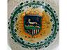 Detail images:  Majolika-Gefäß mit Wappen