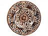 Detail images: Fayence-Buckelplatte