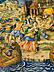 Detail images: Großer Majolika-Istoriato-Teller aus der Werkstatt der Fontana
