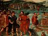 Detail images:  Lucas Gassel, 1500 – 1570, zug.
