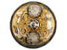 Detail images: Große Majolika-Deckelvase, Francesco Antonio Saverio Grue, 1686 - 1746, zug.