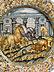 Detailabbildung: Große Majolika-Platte von Francesco Grue, 1618 - 1673 und Werkstatt