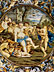 Detail images:  Bedeutende Majolika-Platte von Carlo Antonio Grue, 1655 - 1723