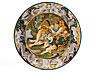 Detail images: Majolika-Platte von Carlo Antonio Grue, 1655 - 1723