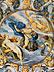 Detail images: Majolika-Teller von Carlo Antonio Grue, 1655 - 1723