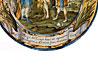 Detail images: Majolika-Teller von Francesco Antonio Saverio Grue, 1686 - 1723