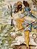 Detail images:  Tiefer Majolika-Teller von Carlo Antonio Grue, 1655 - 1723 und Werkstatt