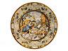 Detail images:  Majolika-Teller von Francesco Antonio Saverio Grue, 1686 - 1746