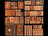 Detail images: † Eine Bibliothek des 18. Jahrhunderts