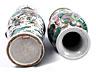 Detail images: Paar große Famille verte-Vasen