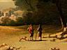 Detail images: Französischer Maler des 19. Jahrhunderts im Stil des 18. Jahrhunderts