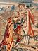 Detailabbildung:  Französischer Wandbildteppich