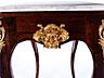 Detail images:  Louis XV-Konsole