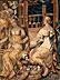Detail images:  Wandgobelin mit mythologischer Szenendarstellung