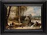 Detail images: Jan Brueghel, d. J., 1601 Antwerpen - 1678 und Josse de Momper 1564 Antwerpen - 1635