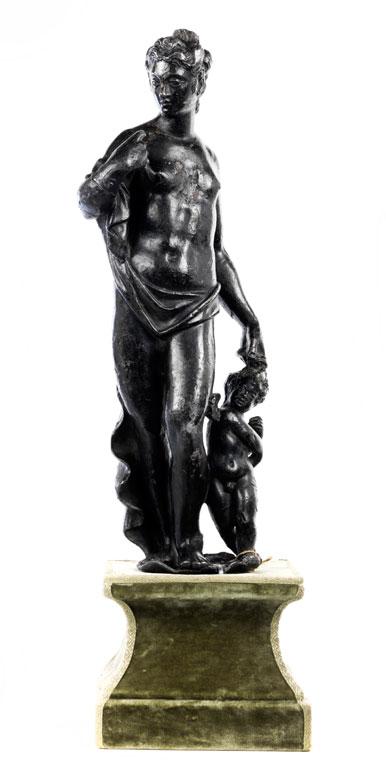 Venusfigur mit Cupido