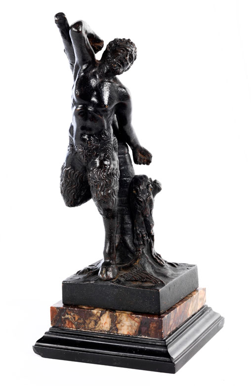 Bronzefigur des Marsyas