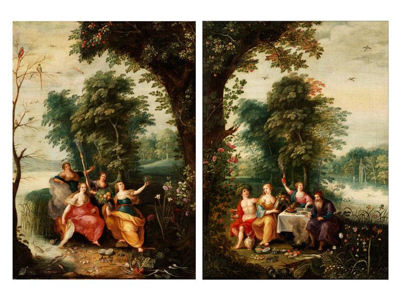 Jan Brueghel d. J., 1601 - 1678 in Zusammenarbeit mit einem Maler aus der Nachfolge Frans Franckens, 1578 - 1642