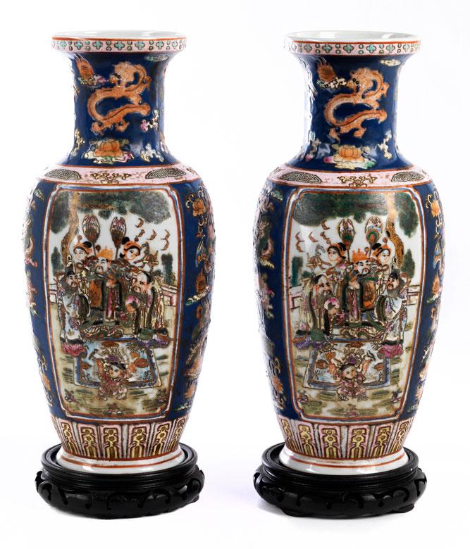 Paar chinesische Vasen