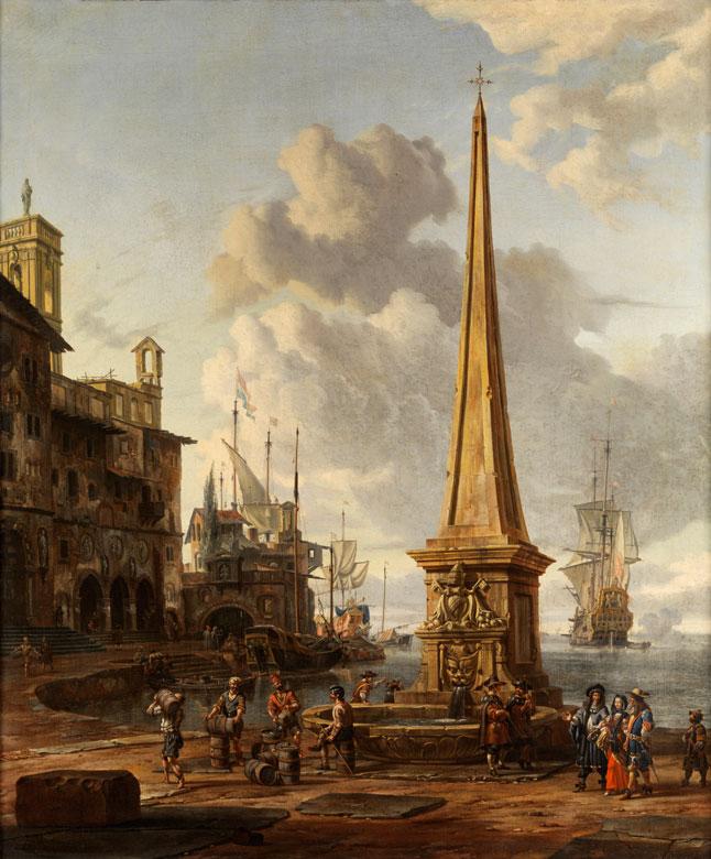 Abraham Jansz Storck, 1635 Amsterdam – 1710 Amsterdam