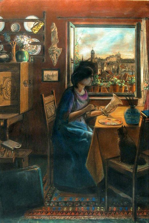 Maler um 1900