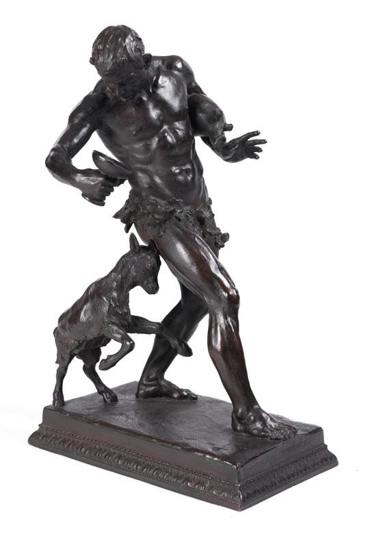 M. Hailmeyer, deutscher, wohl Münchner Bildhauer des 19./ 20. Jahrhunderts