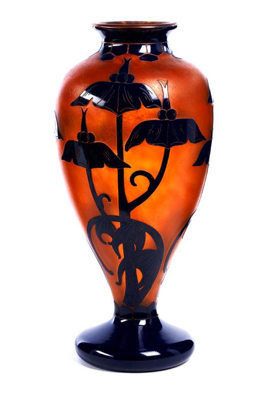 Große Schneider-Vase