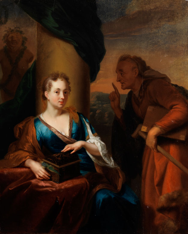 Godfried Schalcken, 1643 Made - 1706 Den Haag