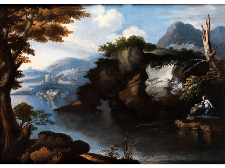 Johann Heinrich Roos, 1631 - 1685, zug.