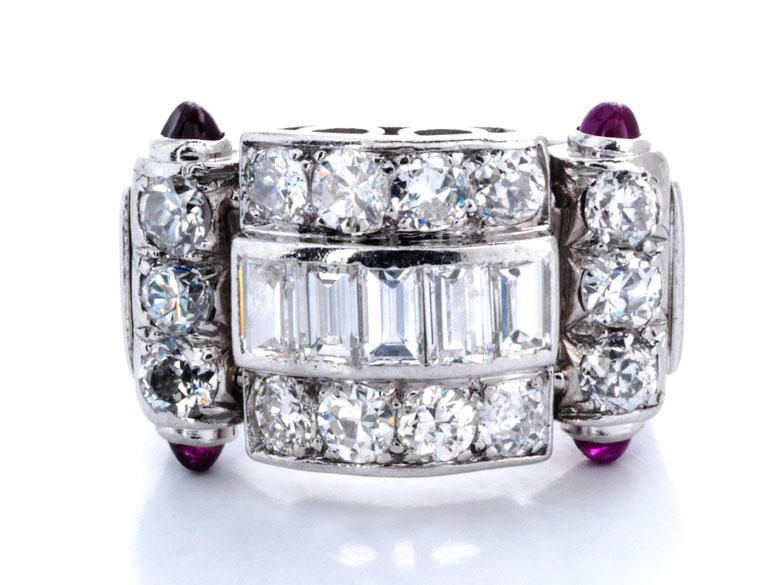 Alter Diamantring