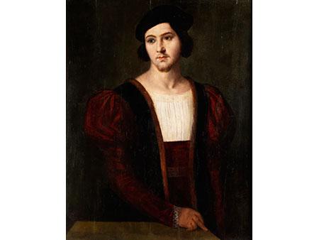 Bernardino Licinio,  um 1489 Venedig – 1565, zug.
