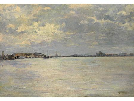 Guglielmo Ciardi,  1842/43 Venedig – 1917 Venedig